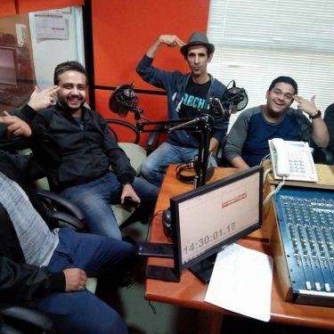 The Parchi Team in the studio 2